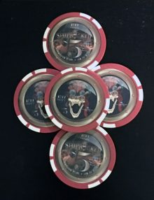 Shiprocked 2014 Poker Chips