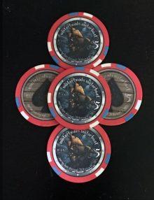 Motorboat 2015 Poker Chips