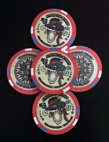 Shiprocked 2016 Poker Chips